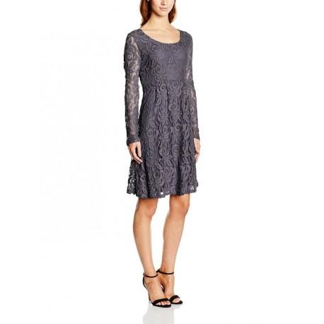 Cream Damen A-Linie Kleid Jane LS Dress, Knielang