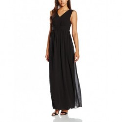 VILA CLOTHES Damen Empire Kleid Viorigin Dress, Maxi