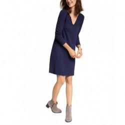 ESPRIT Damen Kleid mit Kaschmiranteil