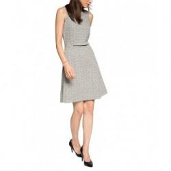 ESPRIT Damen Kleid mit Struktur